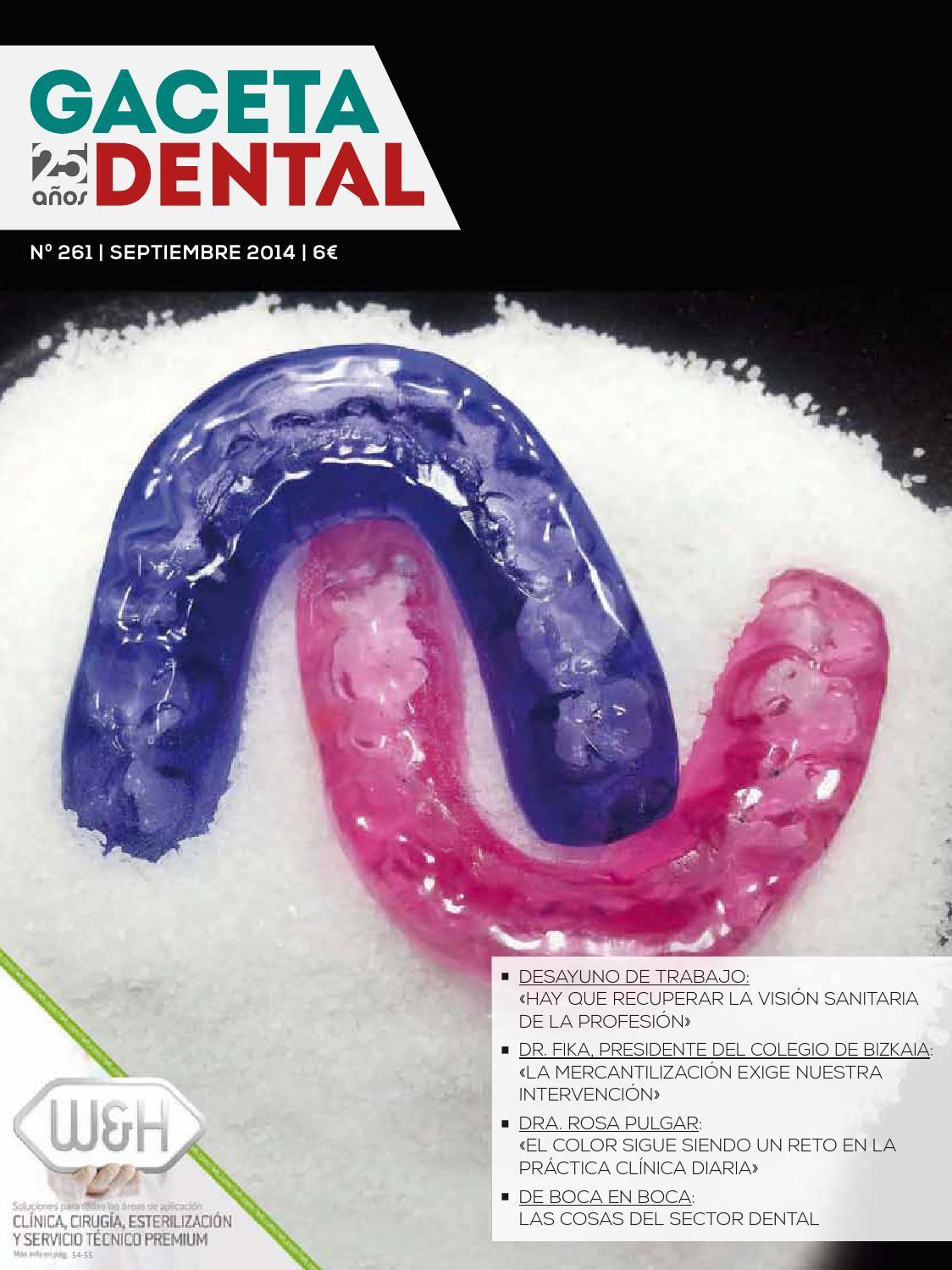 Gaceta Dental - 261 by Peldaño - issuu