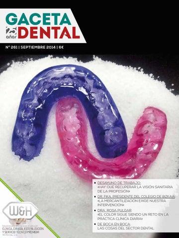 Gaceta Dental - 261 by Peldaño - issuu 0cfc25b5cd