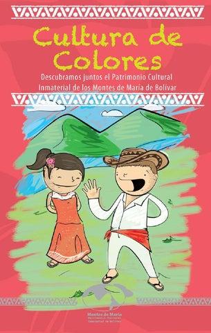 aac833bbb Cultura de colores: cartilla para colorear Montes de María by ...