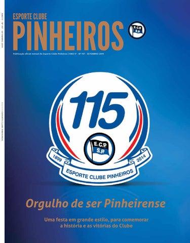 3fa9827958 ANO 17 • Nº 197 • SETEMBRO 2014 Publicação oficial mensal do Esporte Clube  Pinheiros