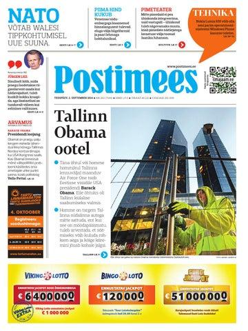 eec375064f5 Postimees 02 09 2014 by Postimees - issuu