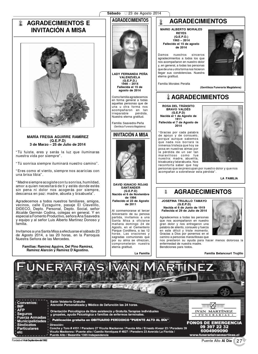 Edición 23 De Agosto 2014 By Puente Alto Al Día Issuu