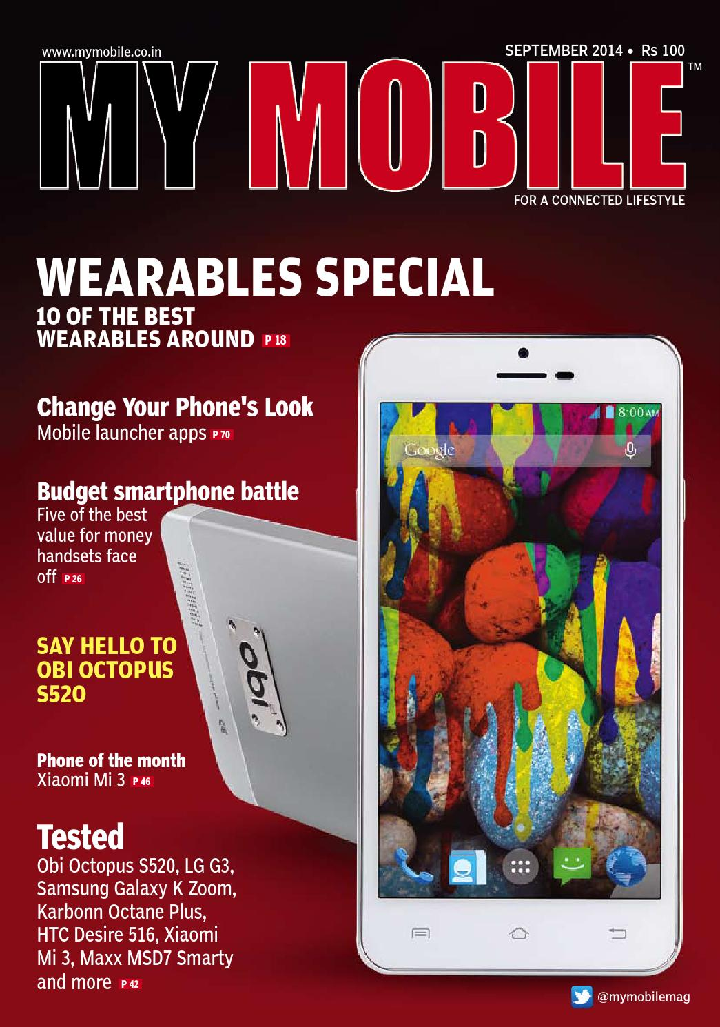 All Low Res Eng Sep 2014 By My Mobile Issuu Lenovo Vibe X S960 With Corning Gorilla Glass