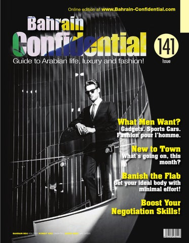 Bahrain Confidential by Arabian Magazines - issuu