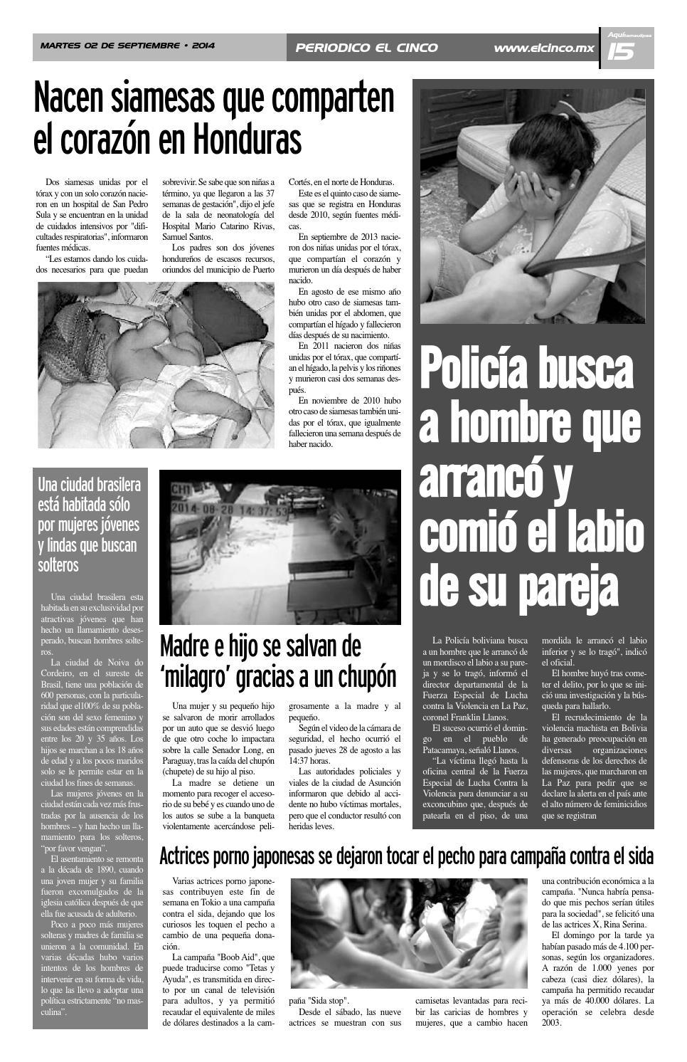 Asuncion Actriz Porno 02092014periodico 5inco - issuu