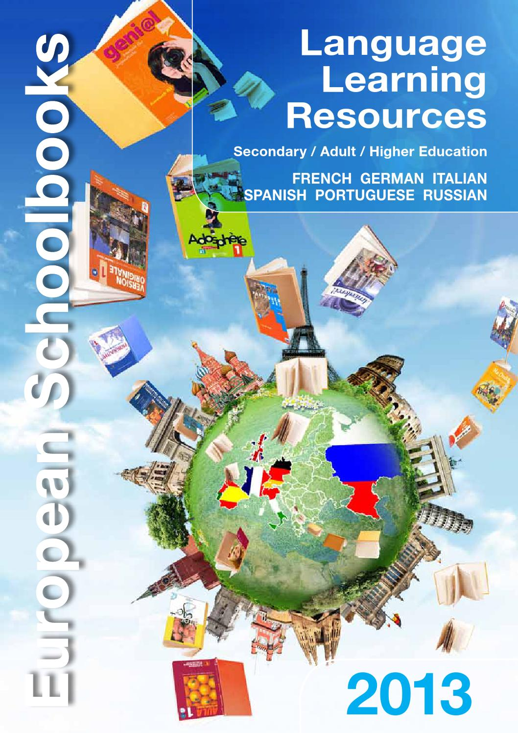 Language Learning Resources 2013 Secondary Adult Higher Education By European Schoolbooks Ltd Issuu