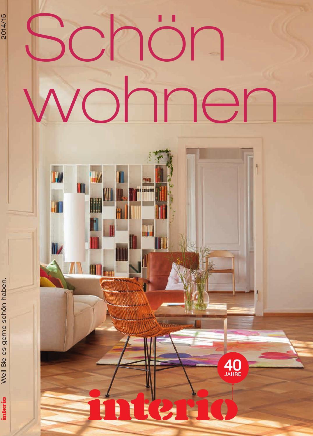 Schön wohnen - Interio Katalog 2014/15 by Interio Interio - issuu
