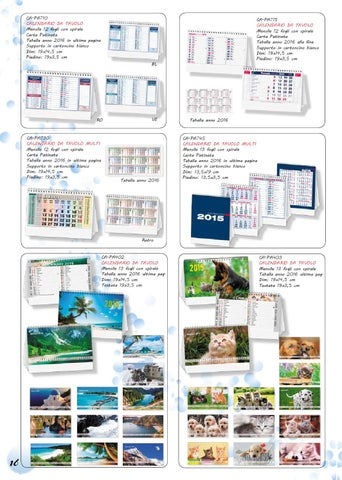 Calendario Anno 2015 Mensile.Catalogo Calendari Agende 2015 Market Screentypographic