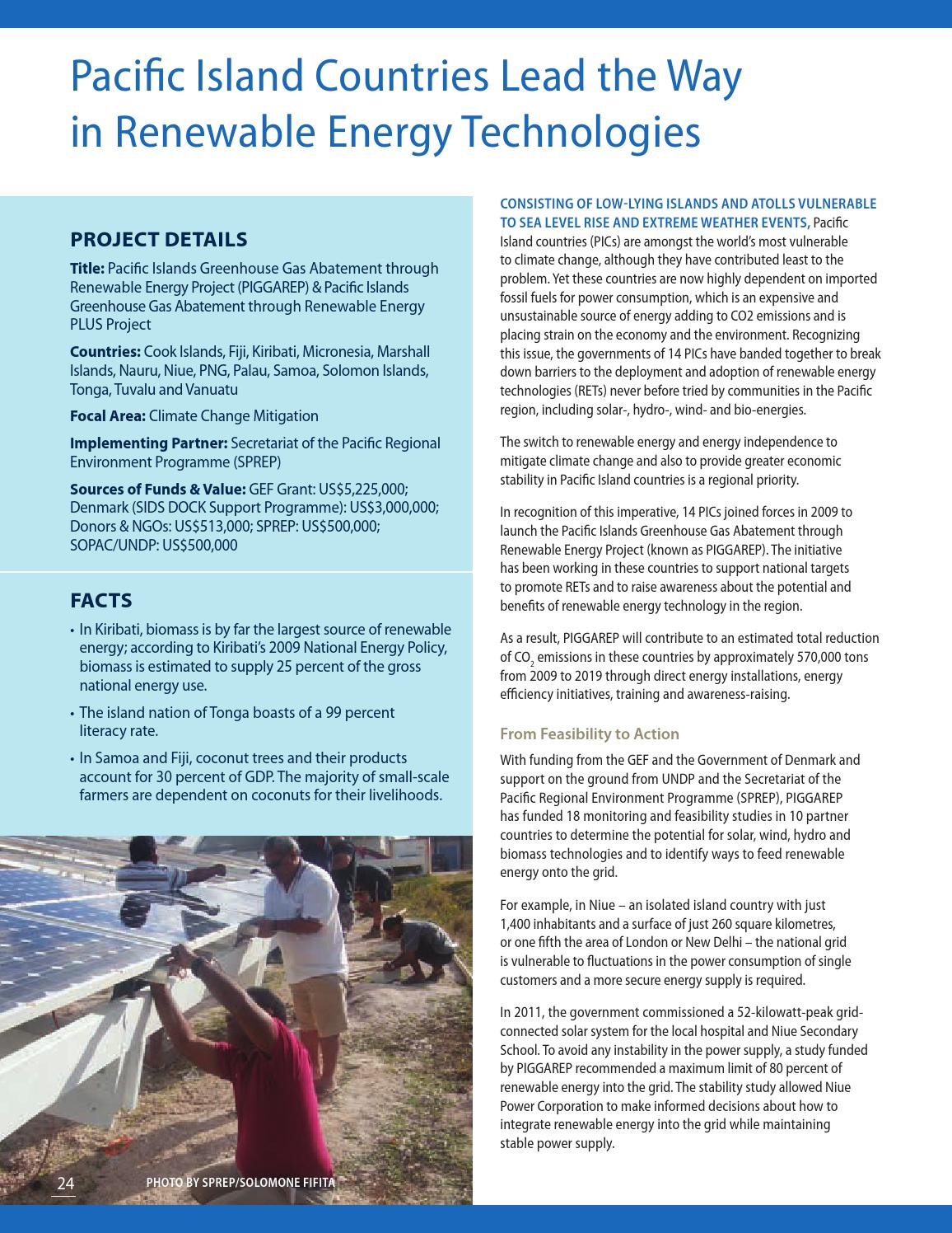 Island Innovations by Global Environment Facility - issuu