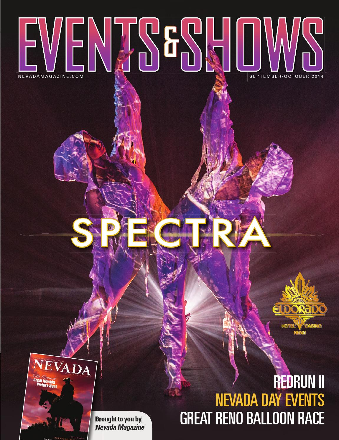 September/October 2014 StateWide Events & Shows by Nevada