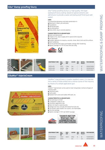 Sika Everbuild Catalogue 2014 - Sika Products by Sika