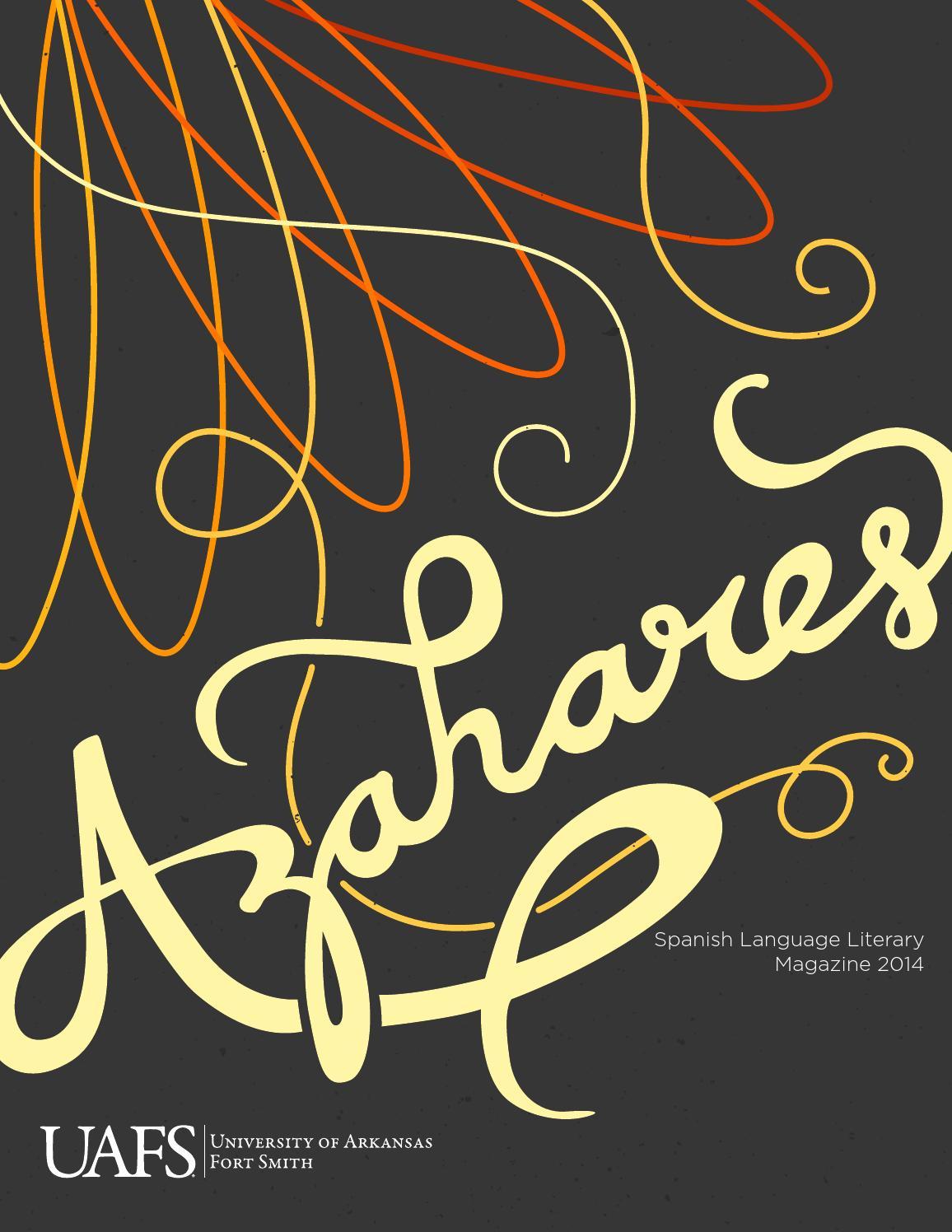 UAFS Azahares 2014 by University of Arkansas - Fort Smith - issuu