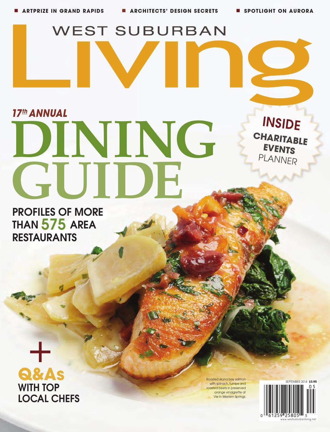 September 2014 by West Suburban Living Magazine - issuu