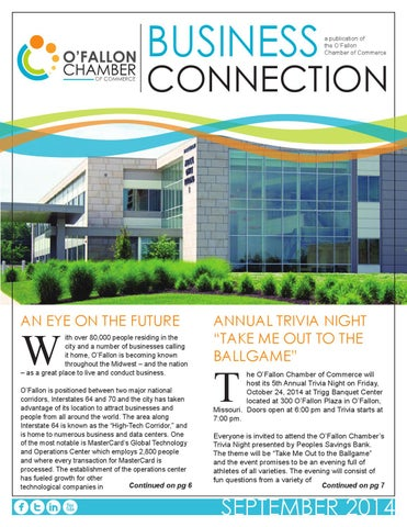 eNewsletter Sept2014 by O\'Fallon Chamber of Commerce - issuu