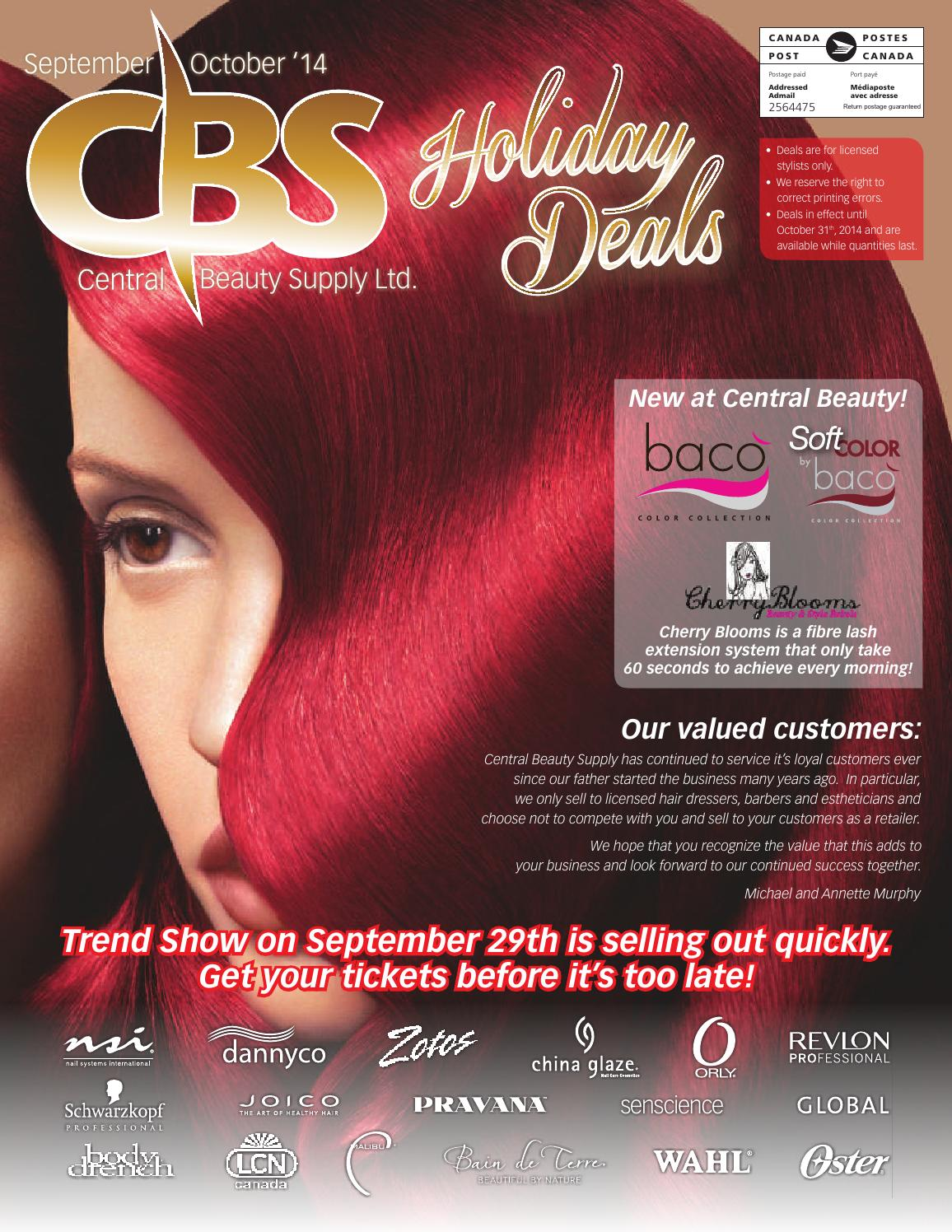 cbs_deal_sheet_2014SO by Central Beauty Supply - issuu