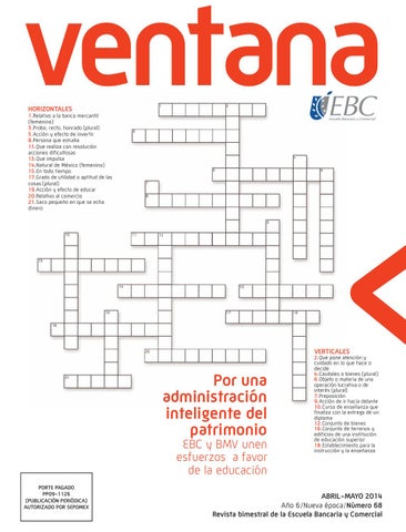 Ventana EBC no. 68 abril - mayo 2014 by Museo EBC - issuu 12b70a0184ae2