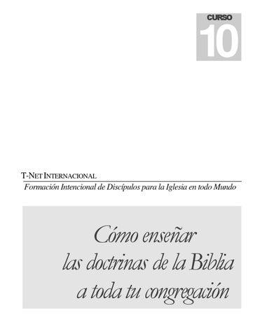 10 c10 154 como ensear doctrina biblica a su iglesia by misionero page 1 urtaz Images