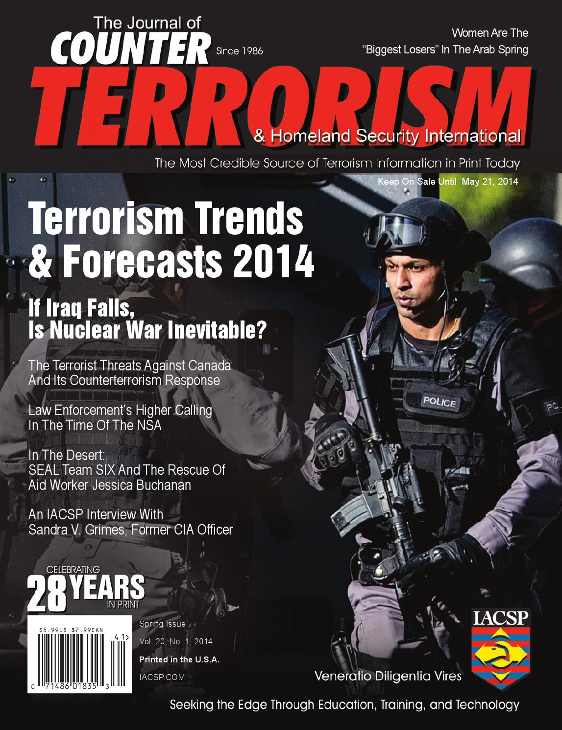The Iacsp S Counter Terrorism Journal V20n1 By Iacsp Issuu