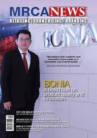 640d2bb0fa98 MRCA NEWS - Retailing   Franchising   Branding - Vol.1 No.4 by MRCA ...