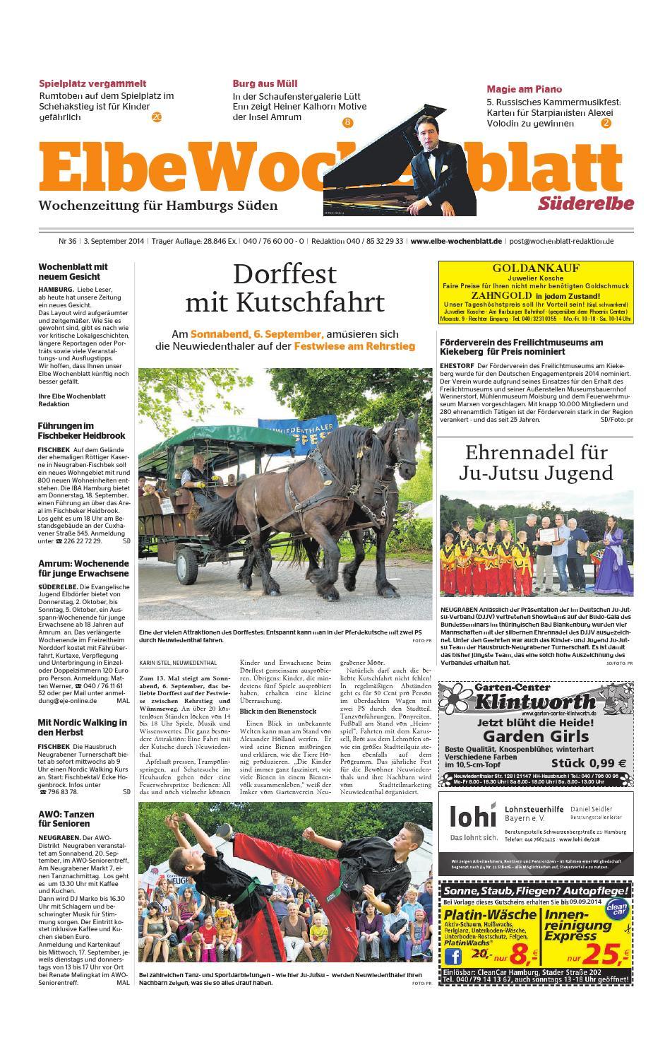 Süderelbe KW36-2014 by Elbe Wochenblatt Verlagsgesellschaft mbH & Co ...