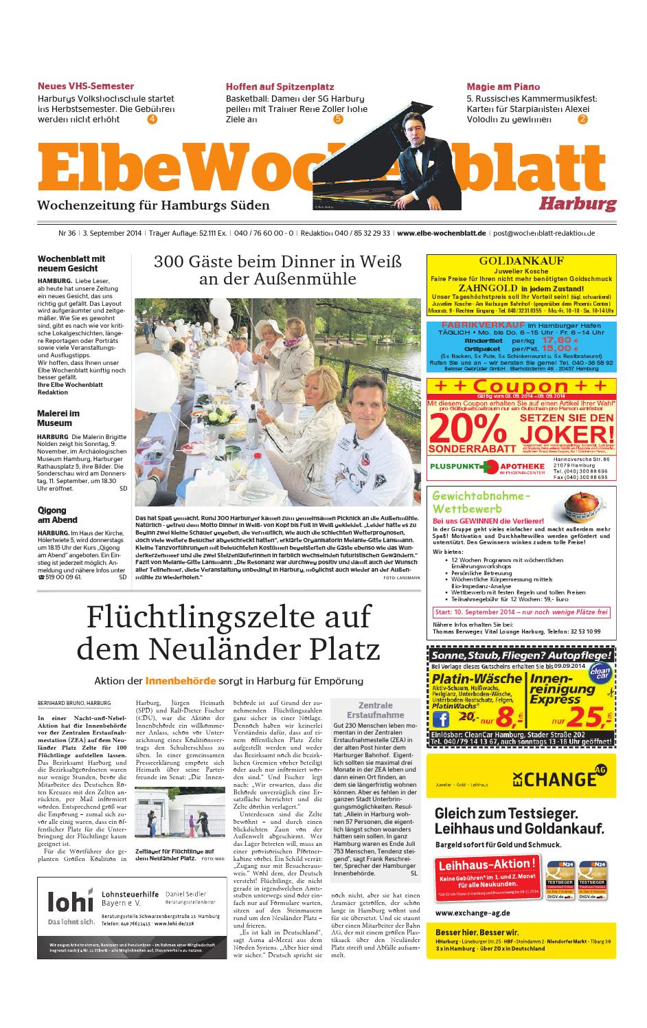 Harburg KW36-2014 by Elbe Wochenblatt Verlagsgesellschaft mbH & Co ...