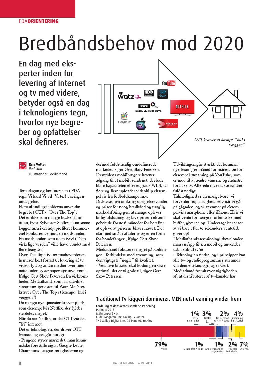 46525d261c6 FDA-Orientering 2014-2 by FDA - Forenede Danske Antenneanlæg - issuu