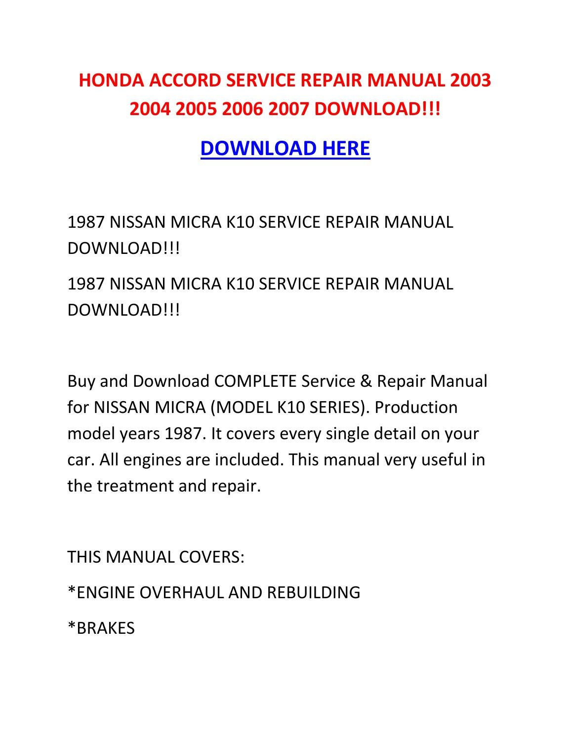 93 Honda Accord Front Suspension Diagram Free Download Wiring
