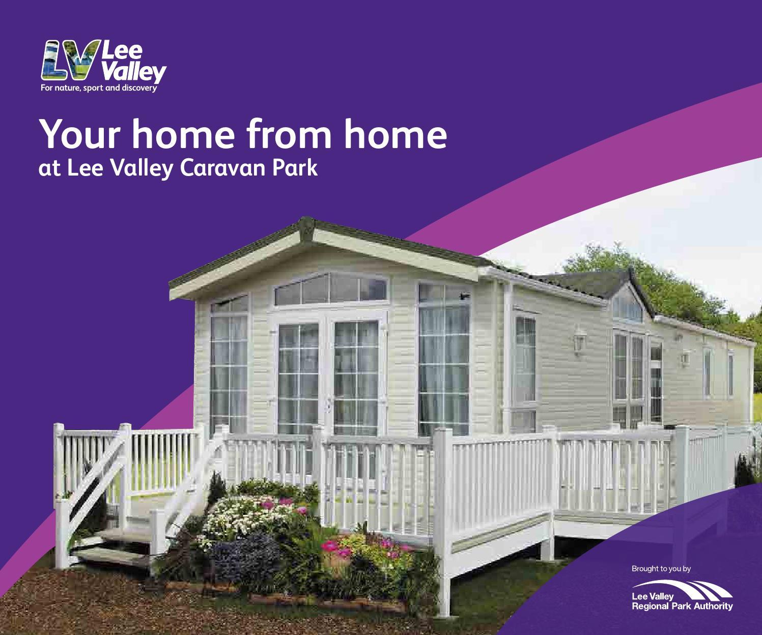 Lee Valley Caravan Park Dobbs Weir Luxury Holiday Homes Brochure By Regional Authority