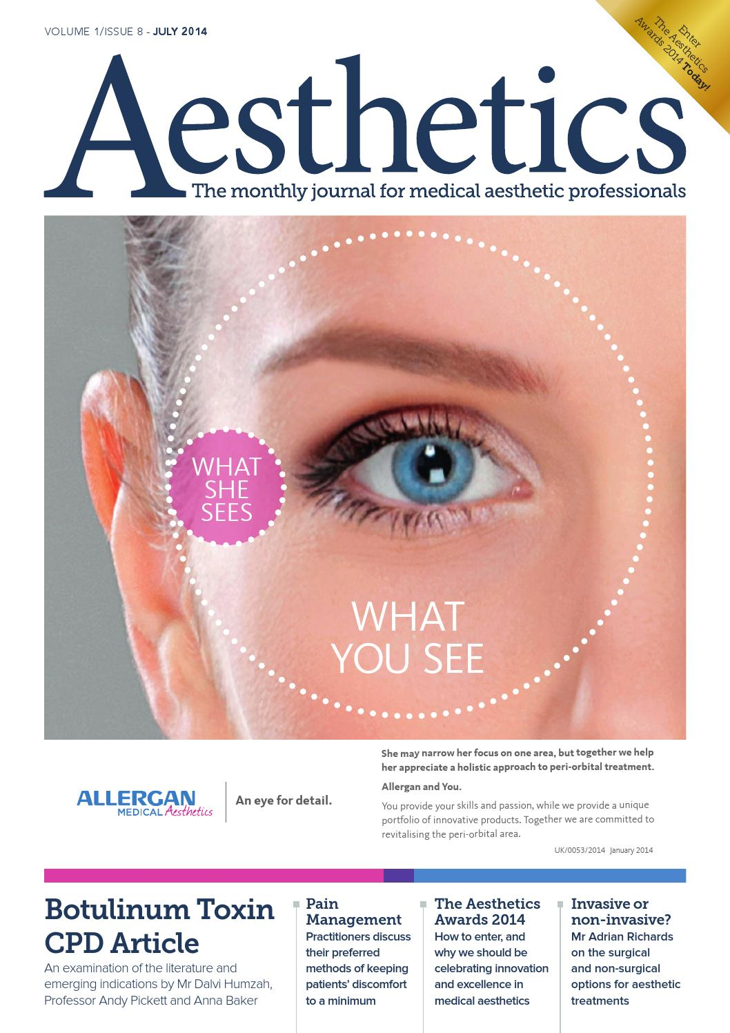 Aesthetics July 2014 By Aesthetics Journal Issuu