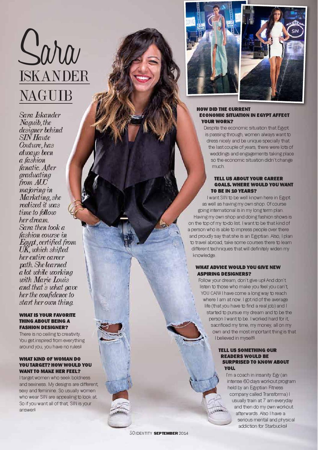 All About Fashion By Identity Magazine Issuu