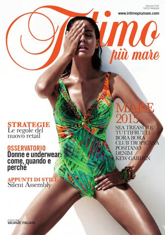 f0c384d686 Intimo Più Mare - 188 by Editoriale Moda - issuu