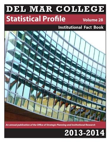 6da787ad1f Del Mar College Statistical Profile 2013-2014 by Del Mar College - issuu