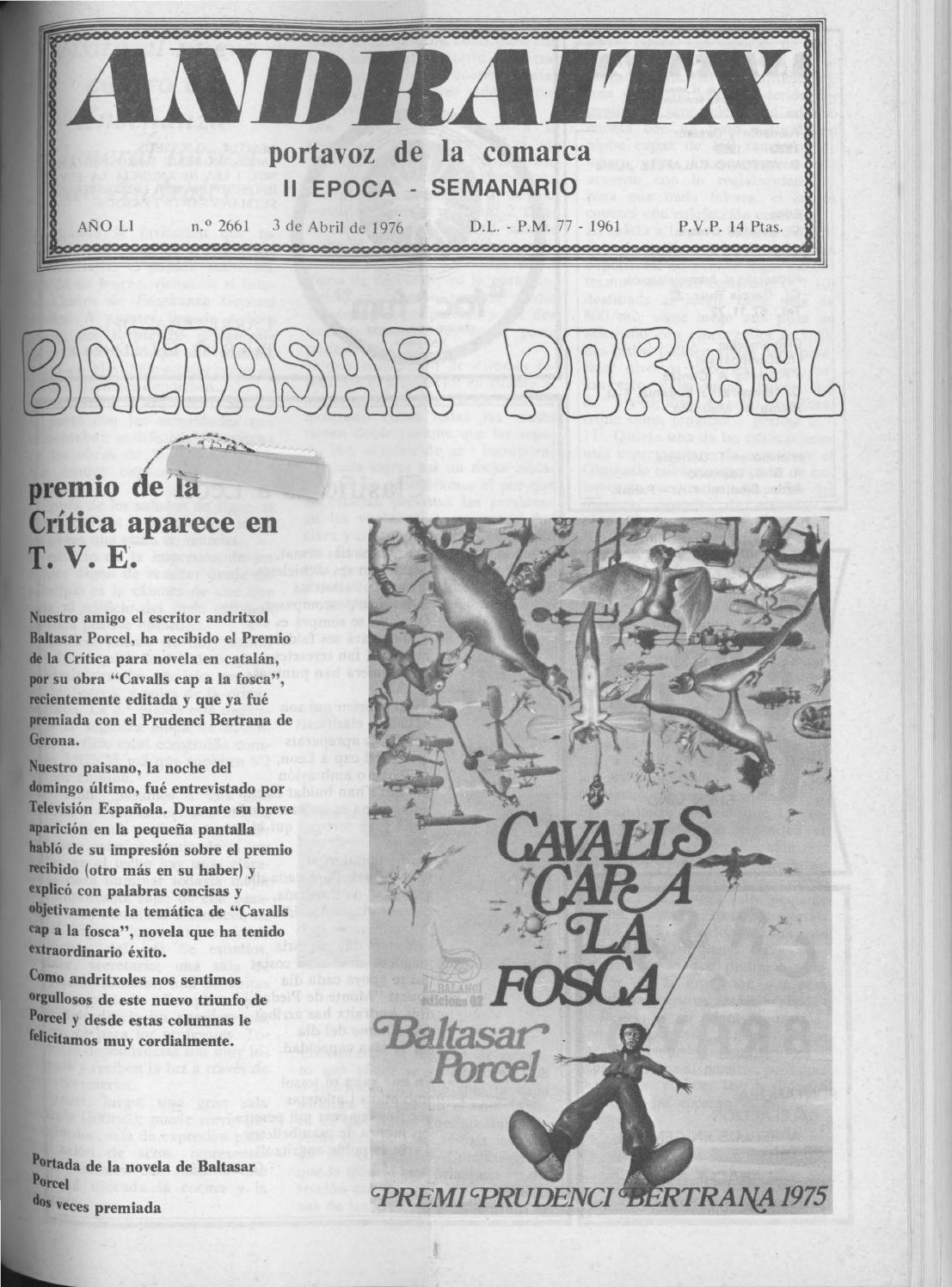 Andraitx abril 1976 by Biblioteca Municipal d\'Andratx - issuu