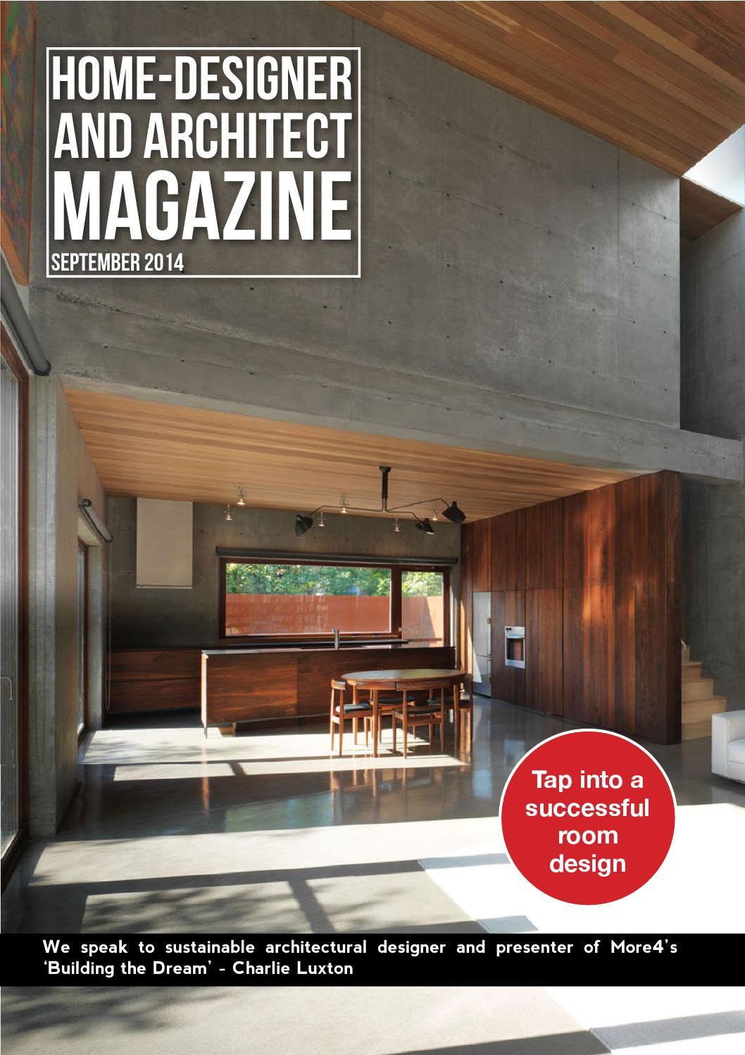 Home Designer and Architect - September 2014 by Jet Digital Media ...