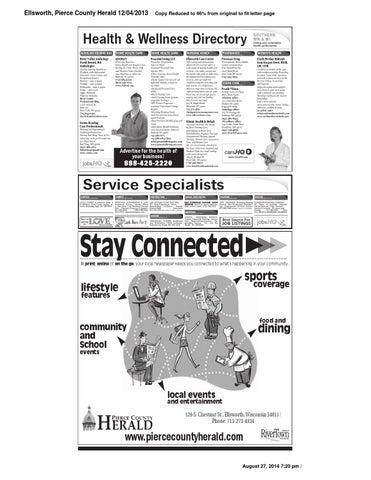 September 2014 ads vol2 by Wisconsin Newspaper Association - issuu