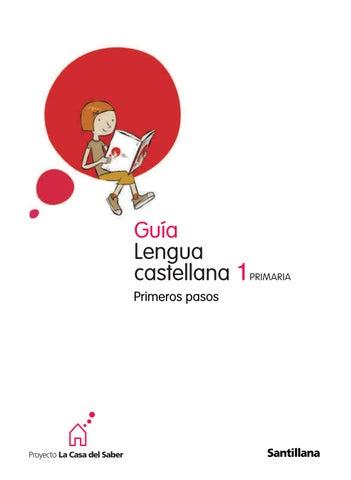 1º primaria guía didáctica lengua castellana primeros pasos by ...