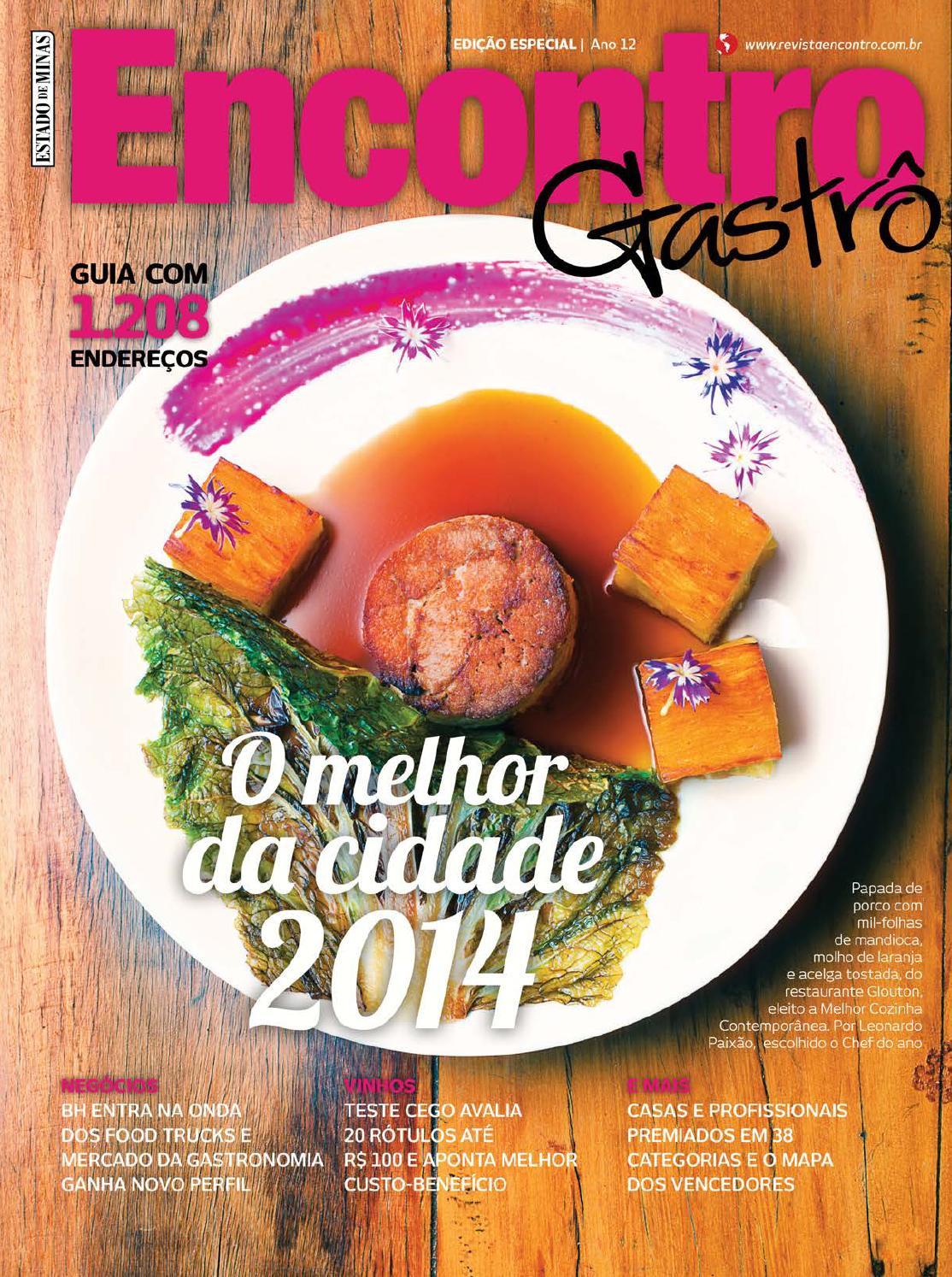 Encontro Gastrô 2014 by Editora Encontro - issuu aad9f6da6f7