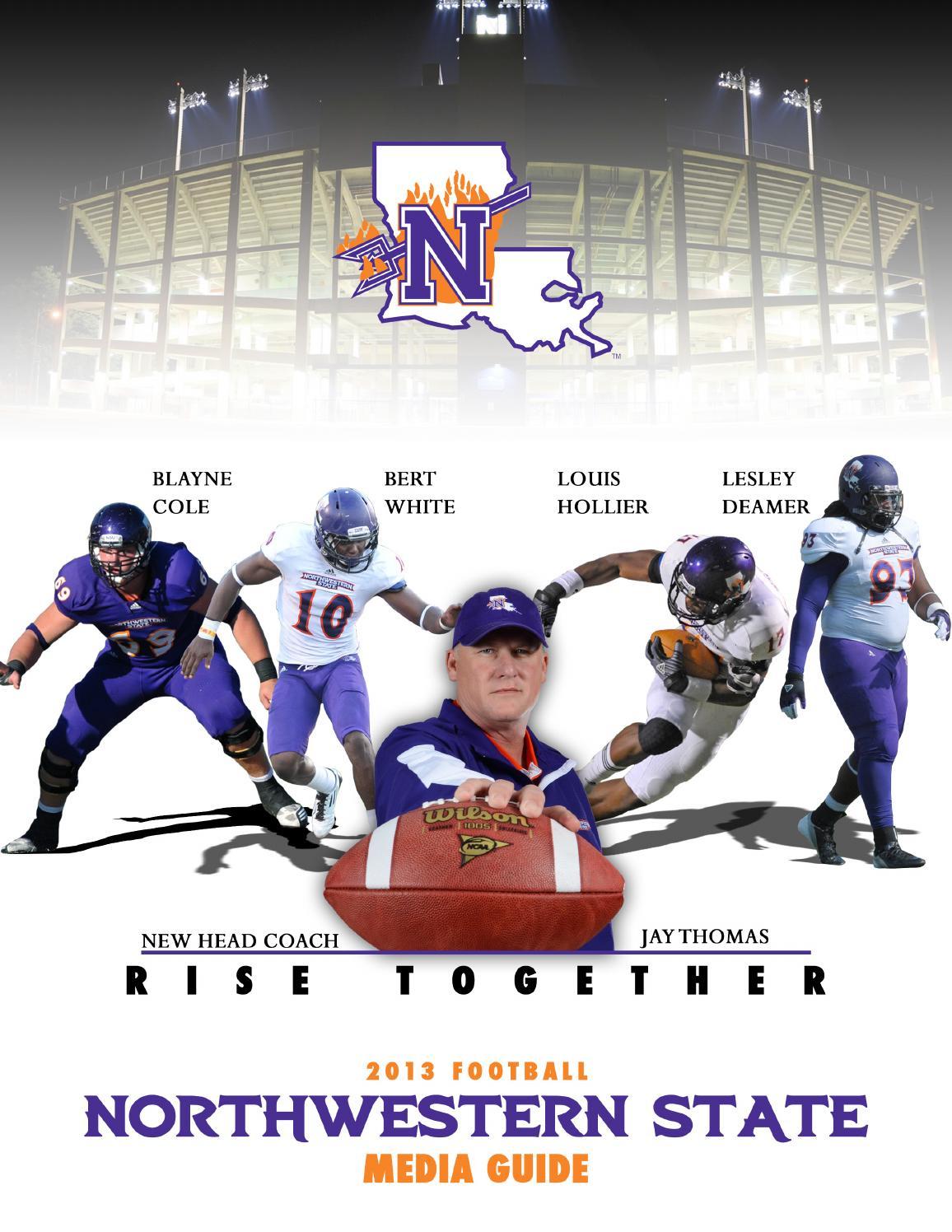 2013 Northwestern State Football Media Guide by Matthew