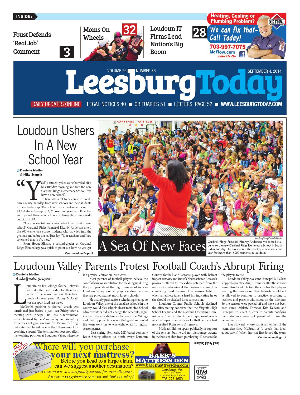 Leesburg today september 4 2014 by insidenova issuu fandeluxe Gallery