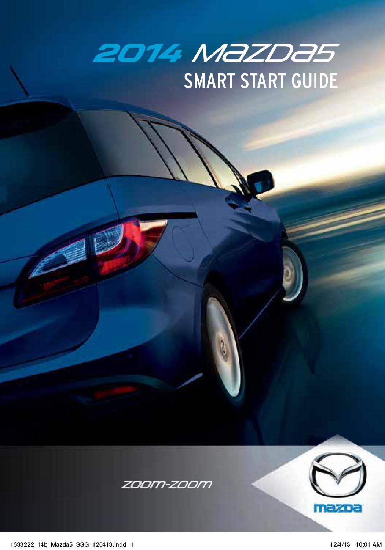 Bob Smith Motors >> 2014 Mazda5 Smart Start Guide Bob Smith Motors By Bob