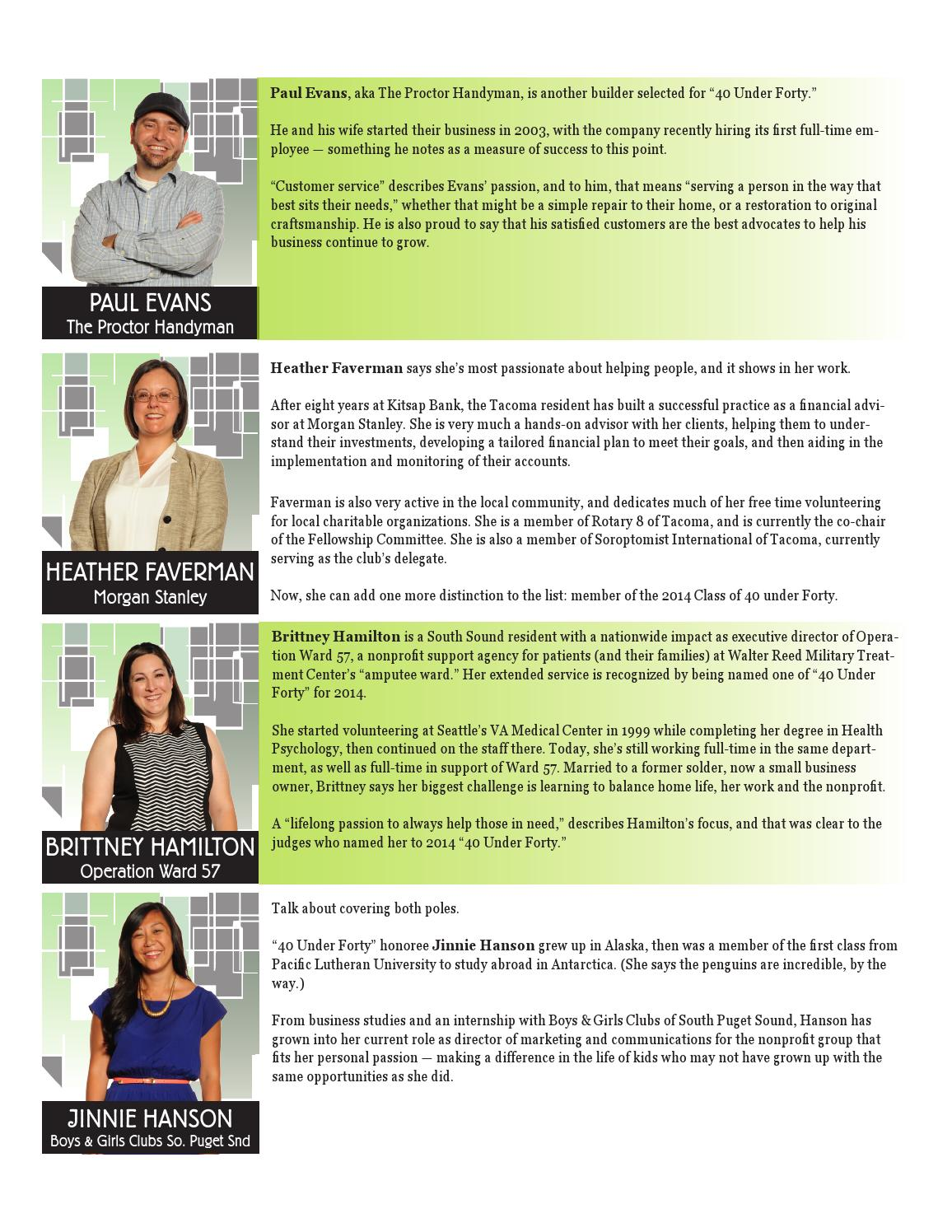 2014 40 Under Forty by Business Examiner Media - issuu