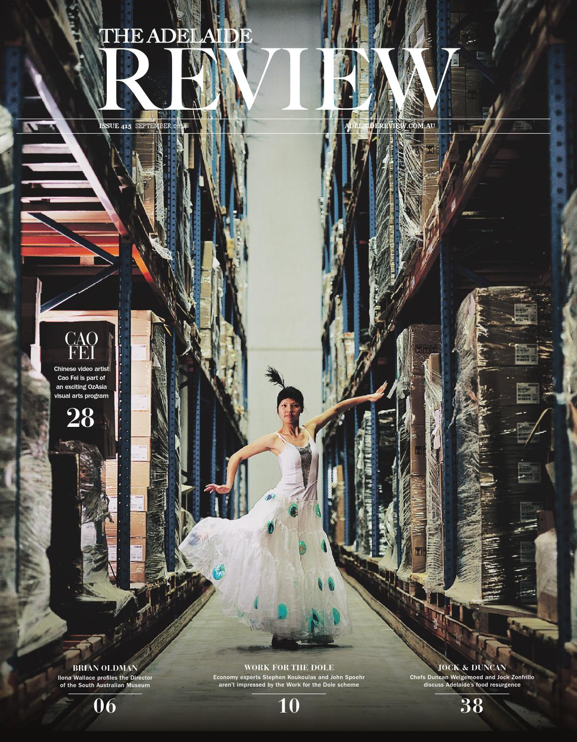 07fd25534a The Adelaide Review - September Issue by The Adelaide Review - issuu