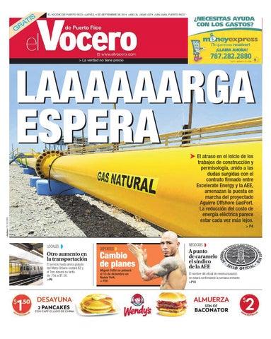 Edición 4 de Septiembre 2014 by El Vocero de Puerto Rico - issuu
