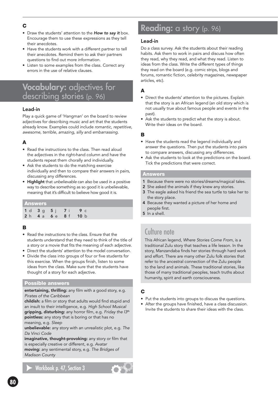 open mind intermediate teachers book unit 8 sample by Macmillan