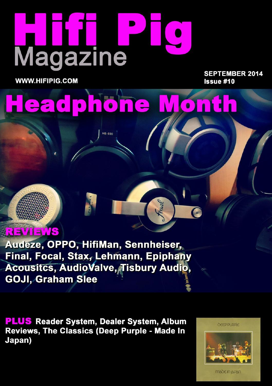 Hifi Pig September The Headphone Edition By Issuu Amplifier Based Opa134pa
