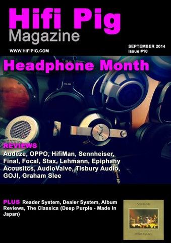 Hifi Pig September The Headphone Edition By Hifi Pig Issuu