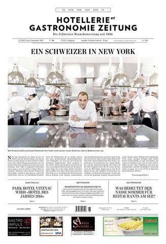 Hetg Zeitung 262014 By Hotelleriegastronomieverlag Issuu