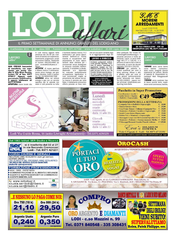 Lodi Affari 4 Settembre by Lodi Affari - issuu bc410eb49cbe