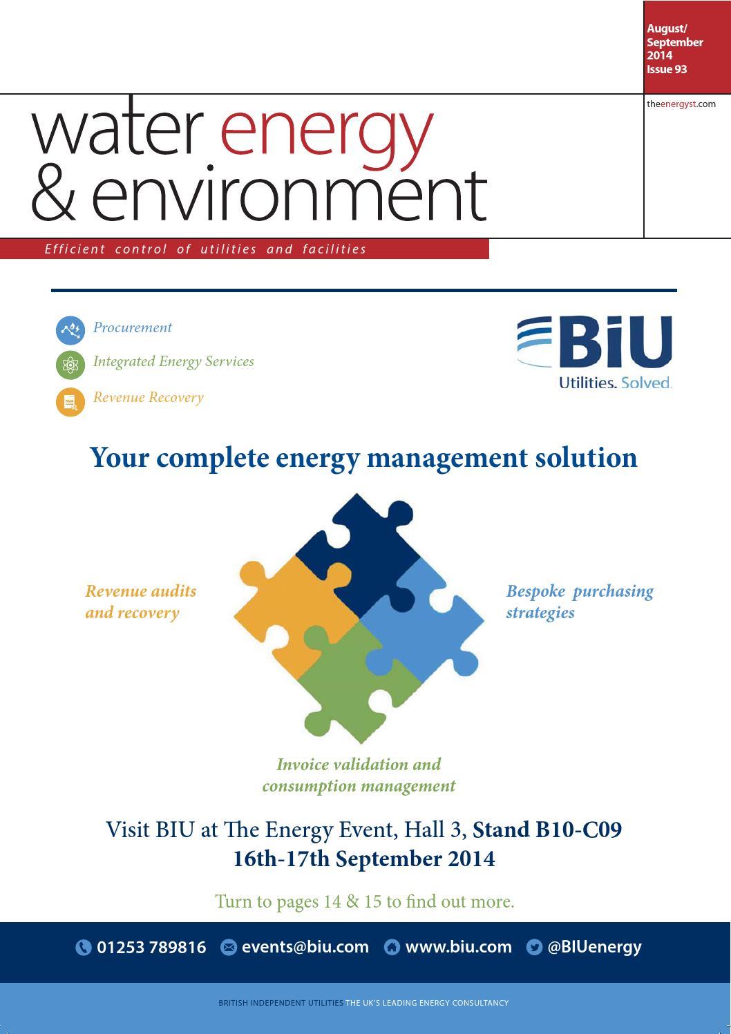 Water Energy Environment By Energyst Media Ltd Issuu