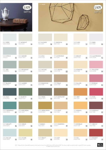 ncs farver Jotuns smukkeste farver by jotun danmark   issuu ncs farver
